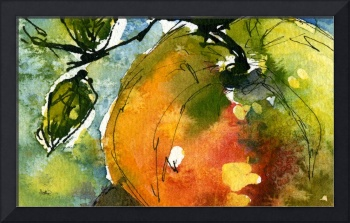 Apple 2 Abstract 110209A by Ginette