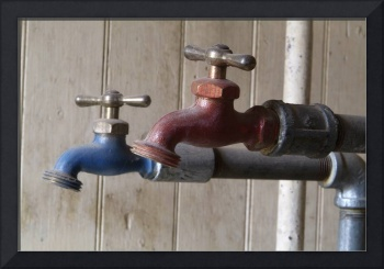 Hot and Cold Faucets, Bodie Schoolhouse