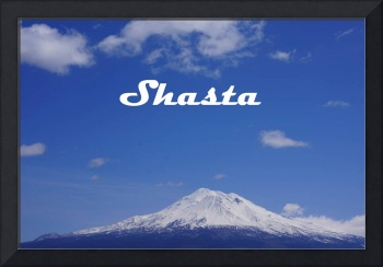 SHASTA scenic Landscape Mountain Art Prints