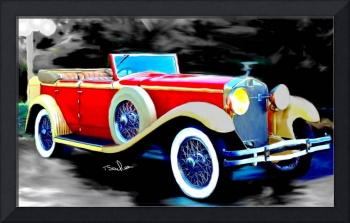 1930 Isotta Fraschini Tipo 8a convertible sedan