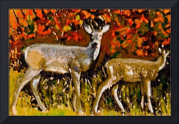 A Buck in Autumn
