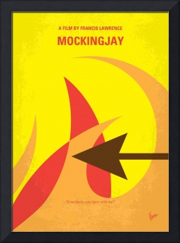 No175-3 My MOCKINGJAY - The Hunger Games minimal m