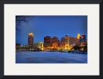 Minneapolis Skyline Photography Hennepin Ave Br by Wayne Moran