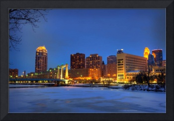 Minneapolis Skyline Photography Hennepin Ave Br
