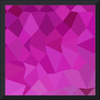 Persian Rose Pink Abstract Low Polygon Background