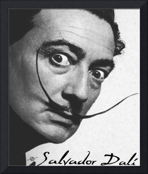 Salvador Dali Realistic Painting With Signature In