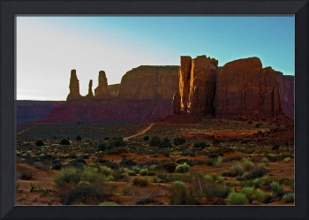 Monument Valley Sunset Glow