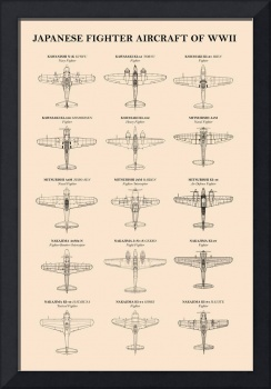 Japanese Fighter Aircraft of WW2