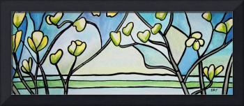 Dogwood Stained Glass I
