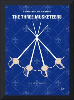 No724 My The Three Musketeers minimal movie poster