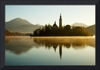 Morning light at Lake Bled