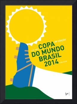 MY 2014 WORLD CUP SOCCER BRAZIL - RIO MINIMAL POST