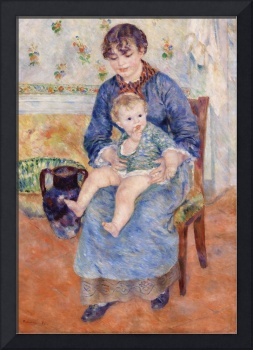 Young Mother by Renoir