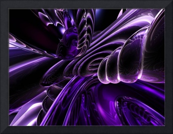 Purple Delusions Abstract