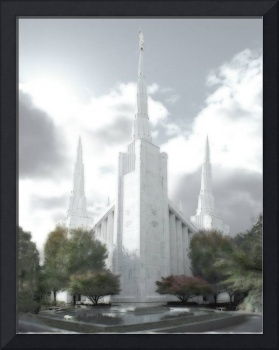 Portland Temple Large-16x20-tinted