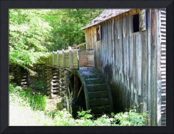 Old Grits Mill & Water Wheel 187