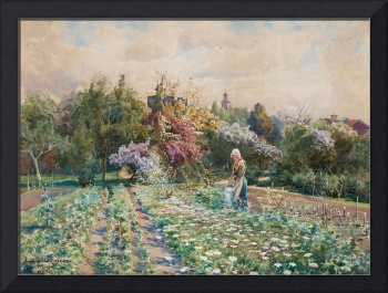 ANNA GARDELL-ERICSON, IN THE GARDEN, SCENE FROM VI