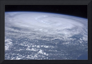 View from space of Hurricane Irene off the east co