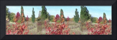 Landscape Underpainting Effect (Unframed version)