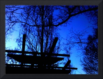 Abstract Branches Silhouette
