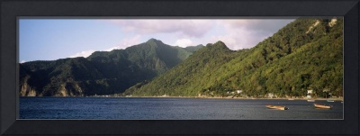 Soufriere Bay South West Coast Dominica Republic