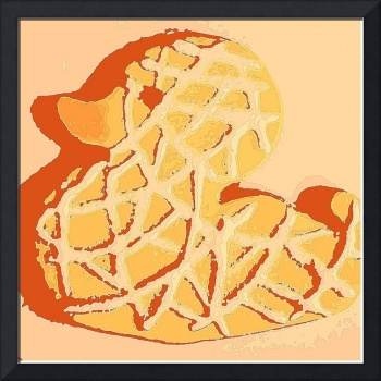 Warhol Rubber Duckie Cookie