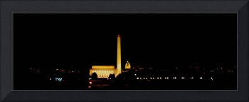 Washington DC Skyline at night