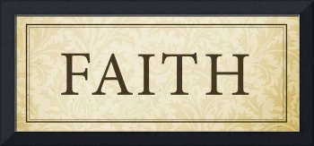 Faith Sign/Plaque