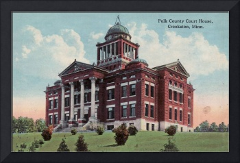 Polk County Courthouse - photo tinted