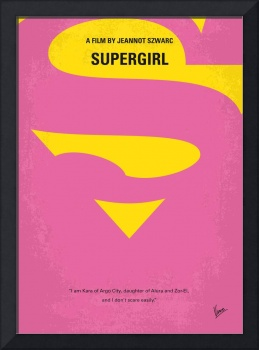 No720 My SUPERGIRL minimal movie poster