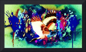 Abstract Bird Art 23