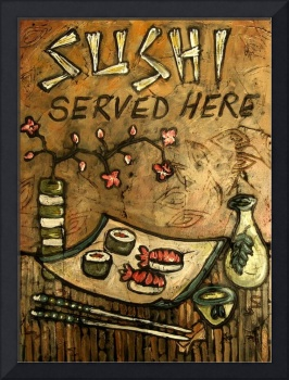 Sushi Served Here