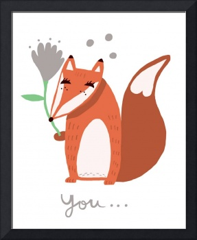 Little Fox thinking of you..