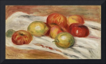 Apples, Orange, and Lemon by Renoir