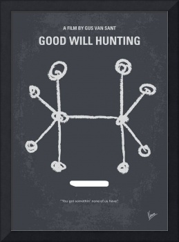 No461 My Good Will Hunting minimal movie poster