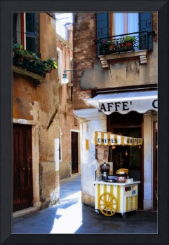Crepes Stand in Venice, Italy