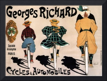 Vintage French Bicycle Advertisement