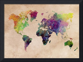 Map of the World  2