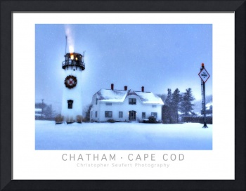 Chatham, Cape Cod Holidays Poster