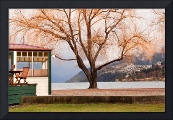 Lakeside cafe, Queenstown