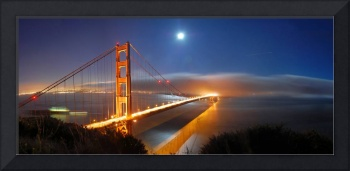 Golden Gate Bridge Panorama