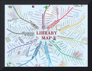 LibraryMapPoster