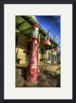 Filling Station, Driftwood, Texas by Dave Wilson