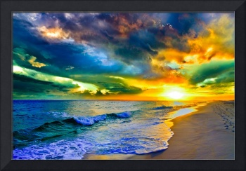 Beautiful Landscape Photo Beautiful Sunset Sea