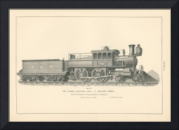 Fig.18 - Fast Express Locomotive Engraving