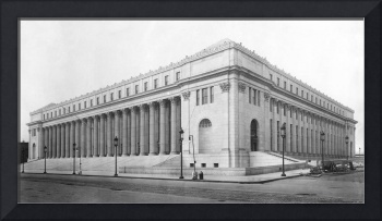 Vintage James Farley NYC Post Office Photograph