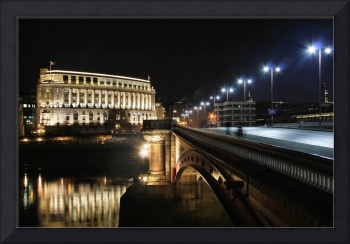 London at Night - Blackfriars Bridge