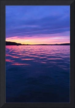 Sunset, Seneca Lake, Ohio