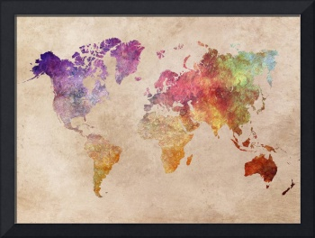 Map of the World 1