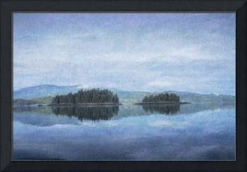 Photo Painting of Sumner Strait, Alaska